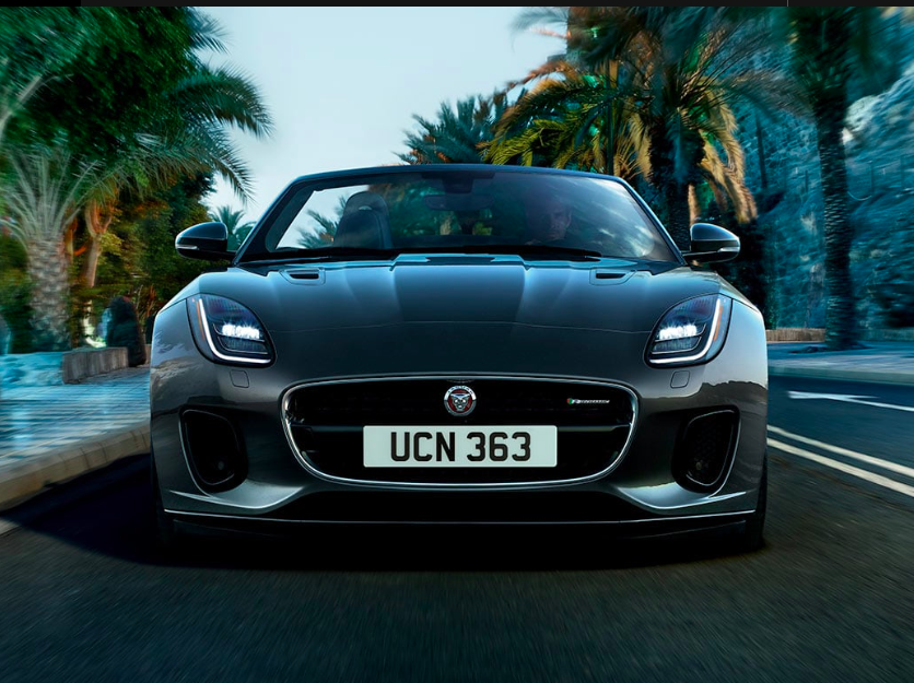 LEASE A NEW 2020 JAGUAR F-TYPE COUPE P300 CHECKERED FLAG EDITION FOR $699 PER MONTH.