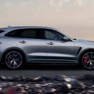2019 Jaguar F Pace Exterior Gallery 4