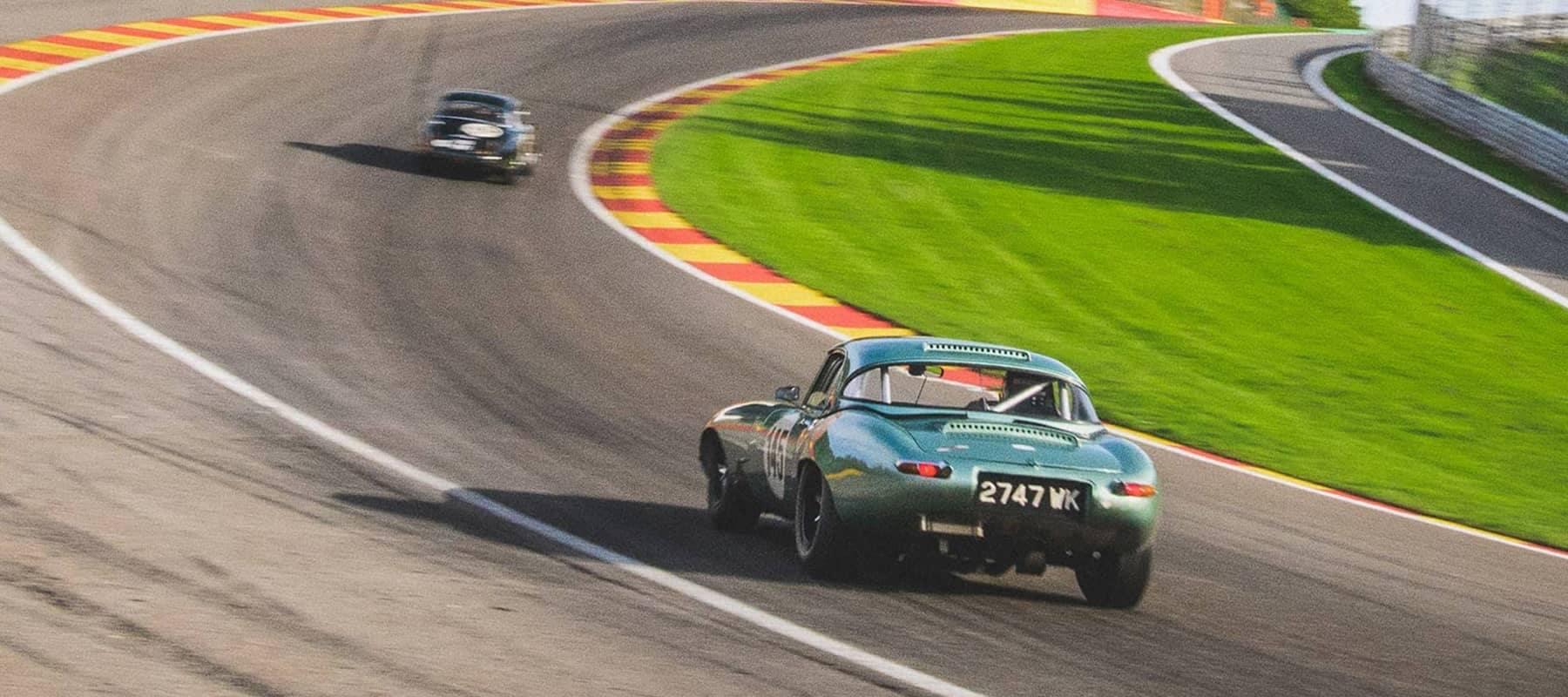 Classic jaguars Test Drive