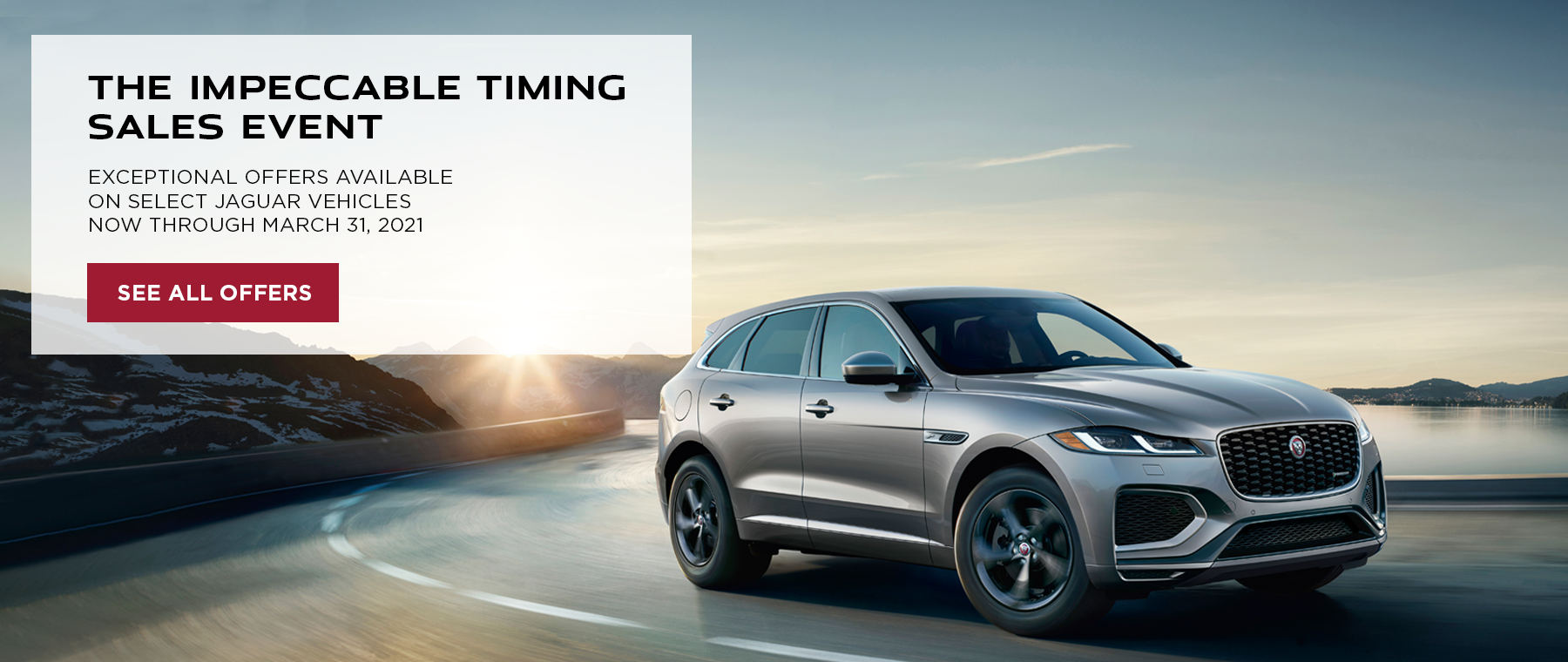 Impeccable Timing Sales Event