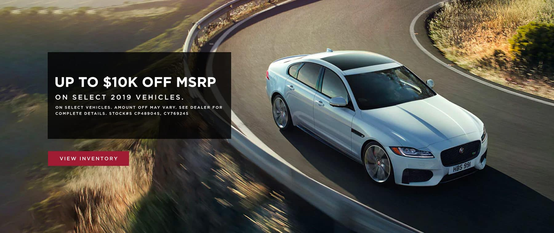 Up to $10K off MSRP