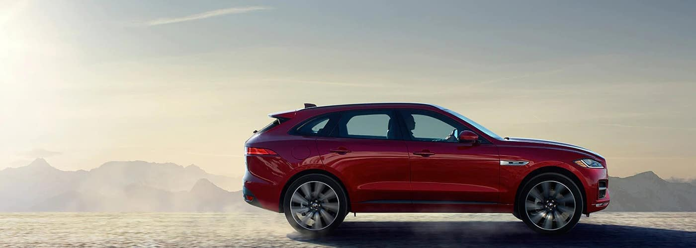 2020 red F-PACE