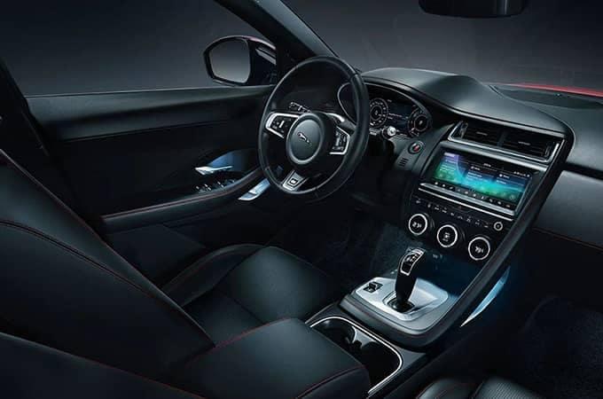 2020 Jaguar E-Pace Checkered Flag Interior