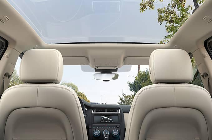 2020 Jaguar E-Pace Sunroof