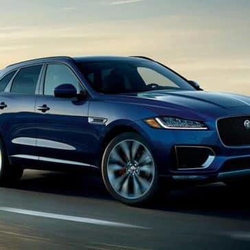 2020 Jaguar F-Pace Driving