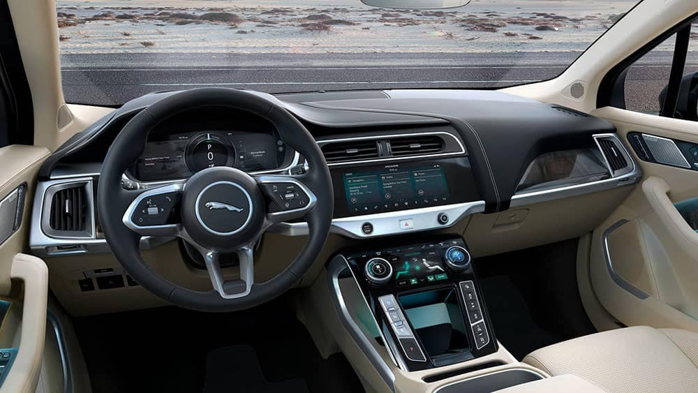 2020 Jaguar I-PACE Dash