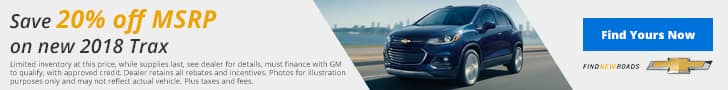 Jim Taylor Chevrolet Buick Special Offers Trax