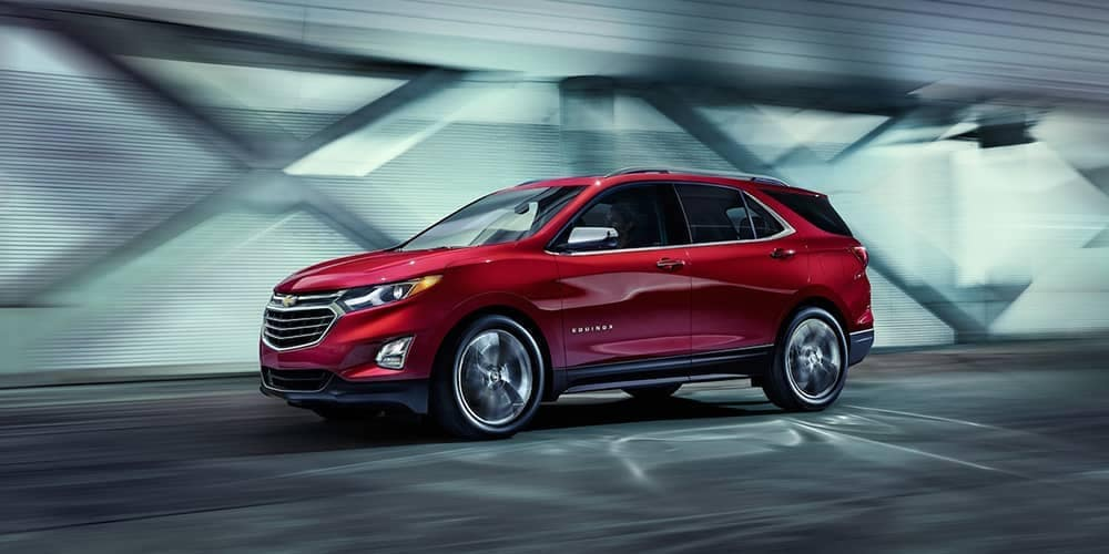 2019 Chevrolet Equinox profile view
