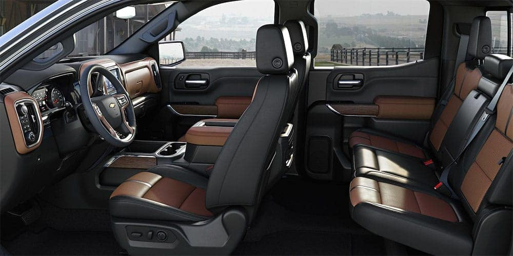 2019 Chevrolet Silverado interior seating