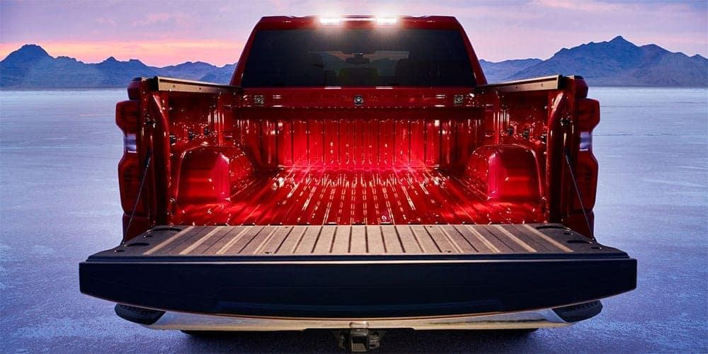 2019 Chevrolet Silverado trunk