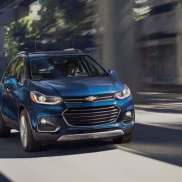 Woman drives 2019 Chevrolet Trax