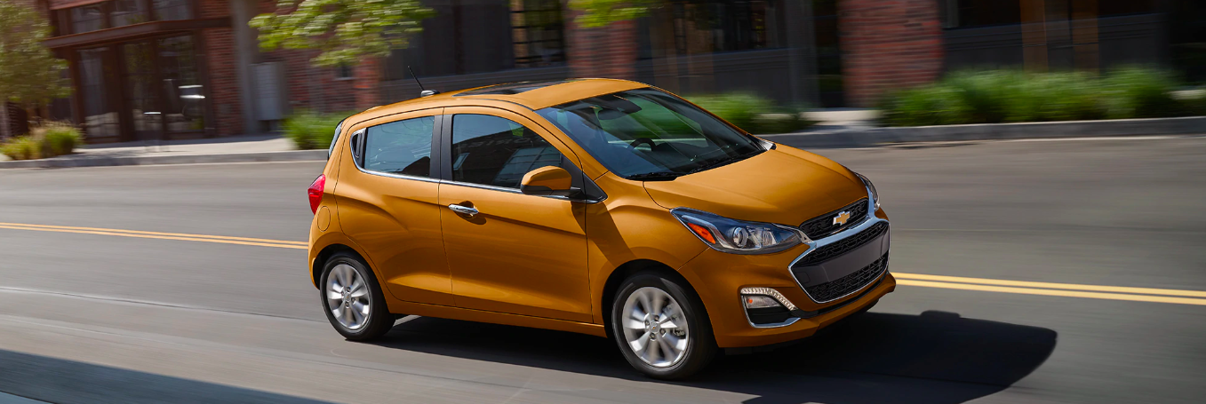A 2020 Chevy Spark with teen driver safety features