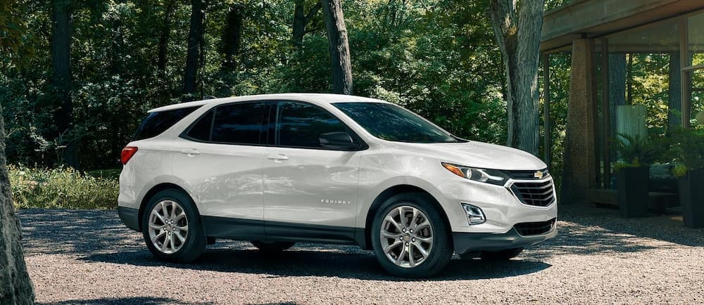 A 2020 Chevy Equinox parked in a driveway