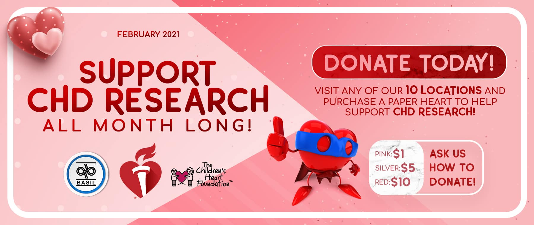 CHD Research February