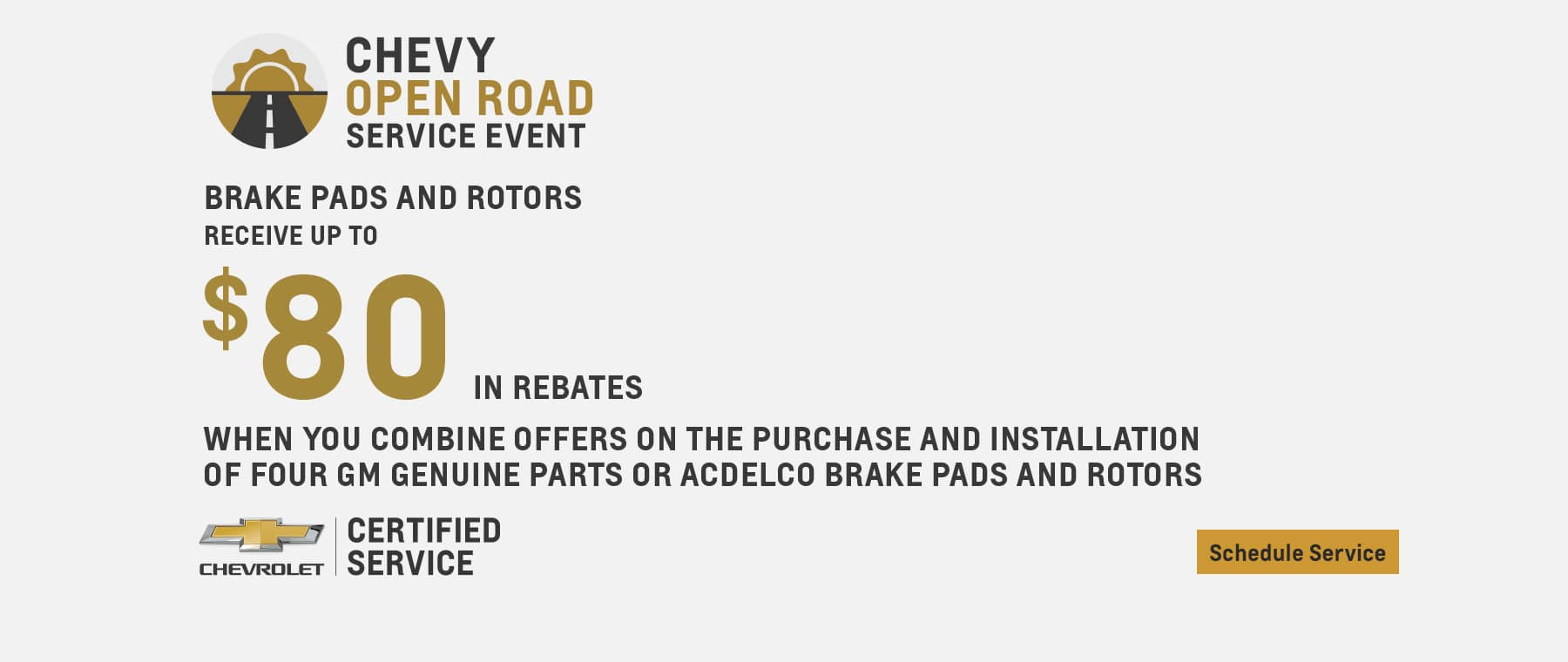 chevy open road service event