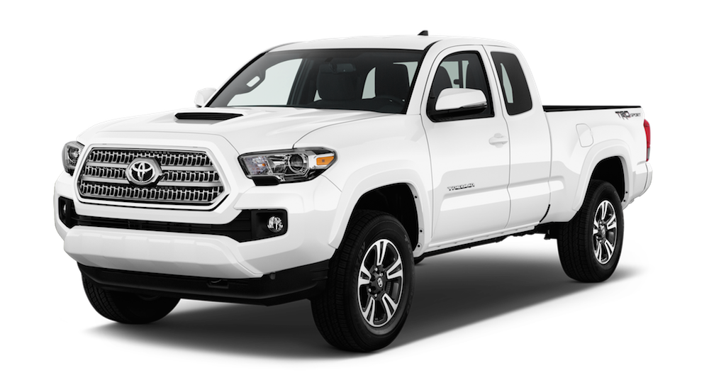 White 2018 Toyota Tacoma at Joseph Toyota in Cincinnati