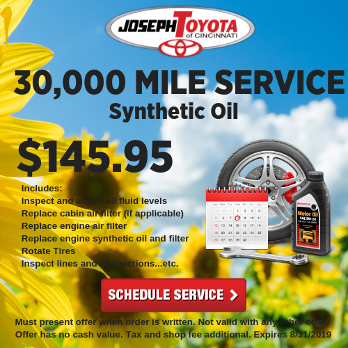 picture relating to Toyota Service Coupons Printable identified as Automobile Services Offers Joseph Toyota of Cincinnati close to