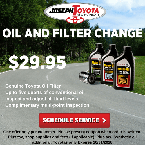 SeptOct Oil and Filter Change