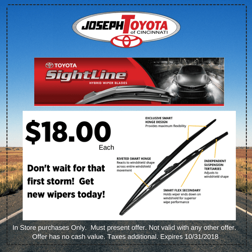 SeptOct Site Line Wipers $18 installed