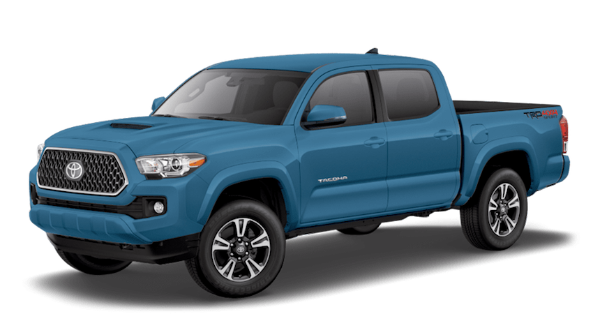 The 2019 Toyota Tacoma in Blue