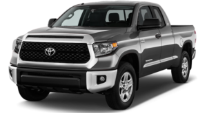 A silver 2019 Toyota Tundra