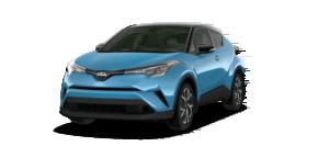 A blue 2019 Toyota C-HR from Joseph Toyota