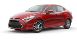A bright red 2019 Toyota Yaris from Joseph Toyota