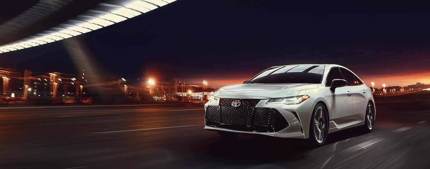 A white 2019 Toyota Avalon from Joseph Toyota