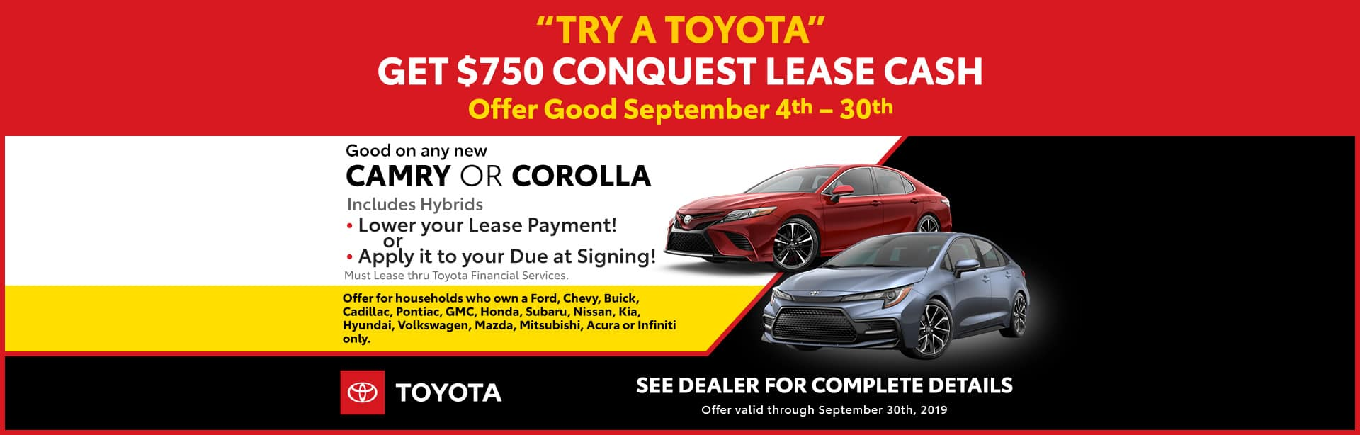 New and Used Toyota Dealer | Joseph Toyota | Serving