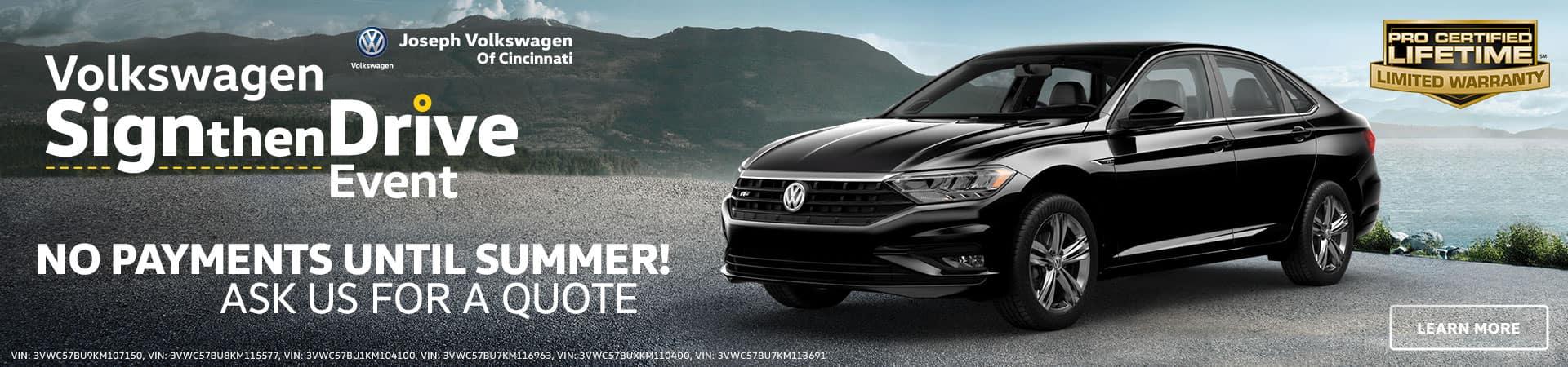 VW Jetta in Cincinnati. OH