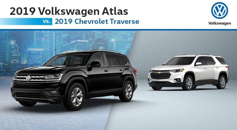 Volkswagen Atlas Vs Chevrolet Traverse
