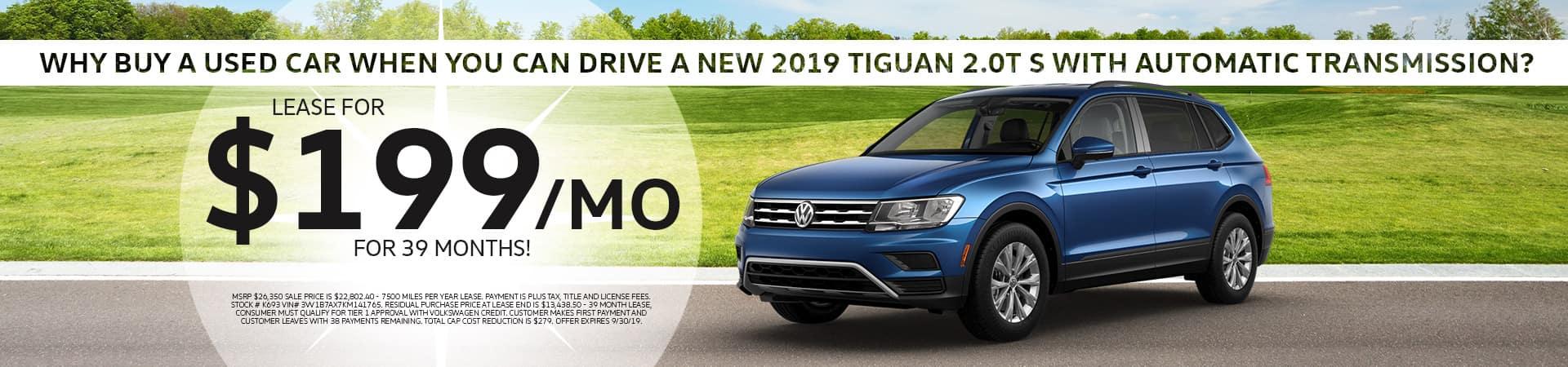 2019 VW Tiguan in Cincinnati, OH