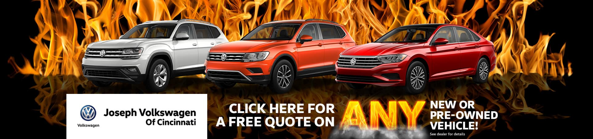 Free Quote On Any Vehicle | Cincinnati, OH