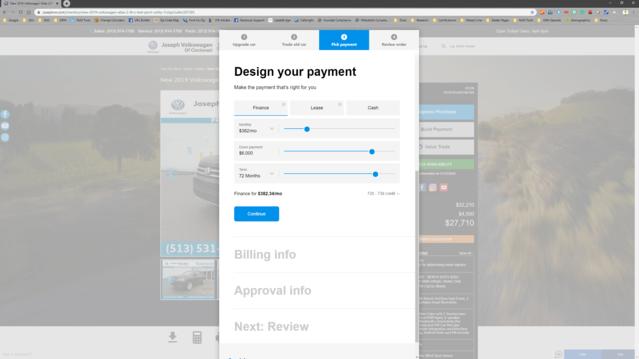 Step 3: Choose Payment Options | Cincinnati, OH