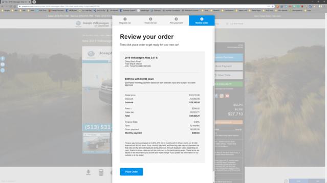 Step 4: Review Your Order | Cincinnati, OH