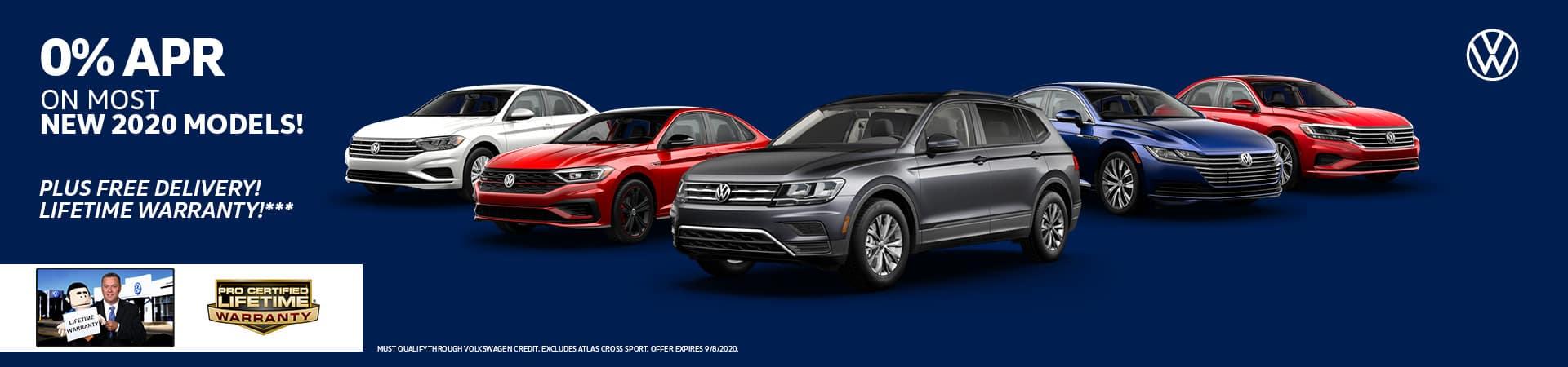 0% APR on Most Volkswagen Models | Cincinnati, OH