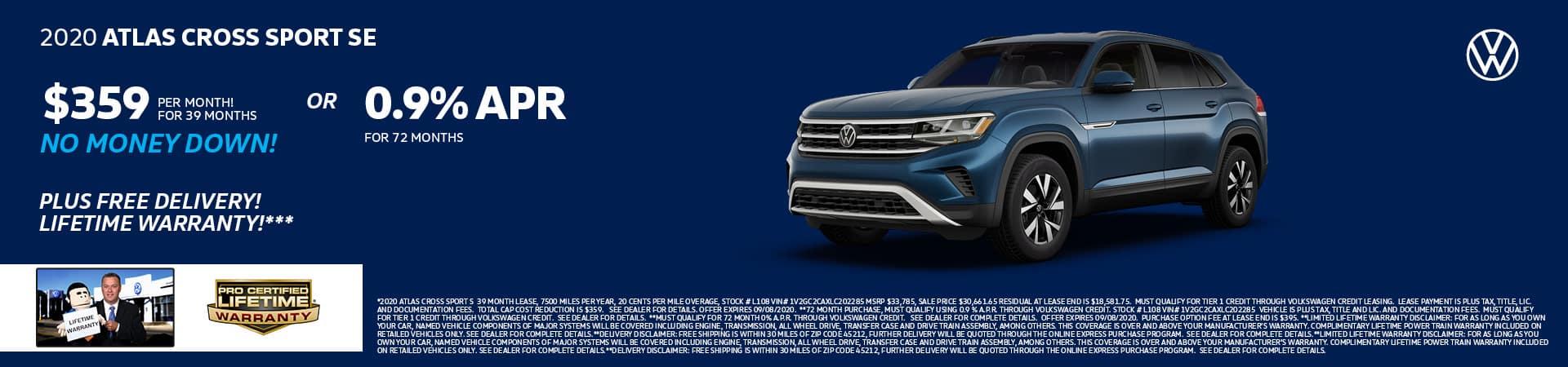2020 Volkswagen Atlas Cross Sport | Cincinnati, OH