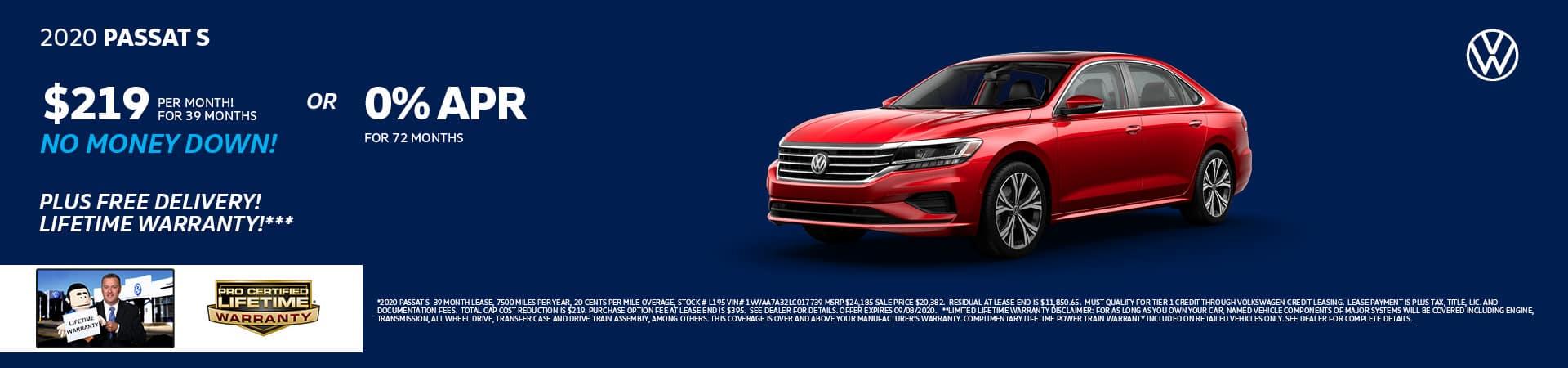 2020 Volkswagen Passat | Cincinnati, OH
