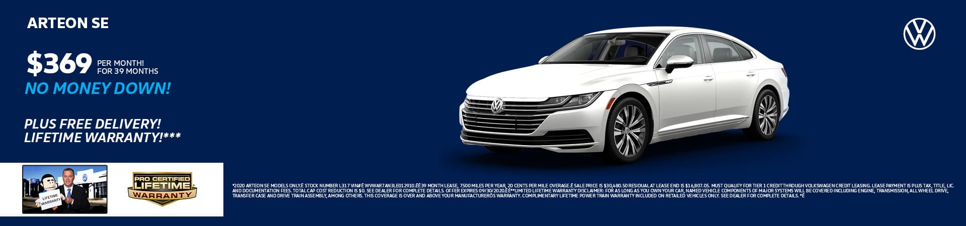 New 2020 Volkswagen Arteon   Cincinnati, OH