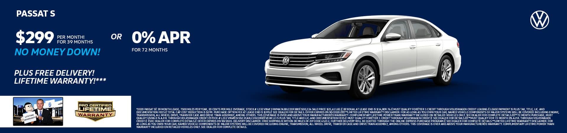 New 2020 Volkswagen Passat   Cincinnati, OH