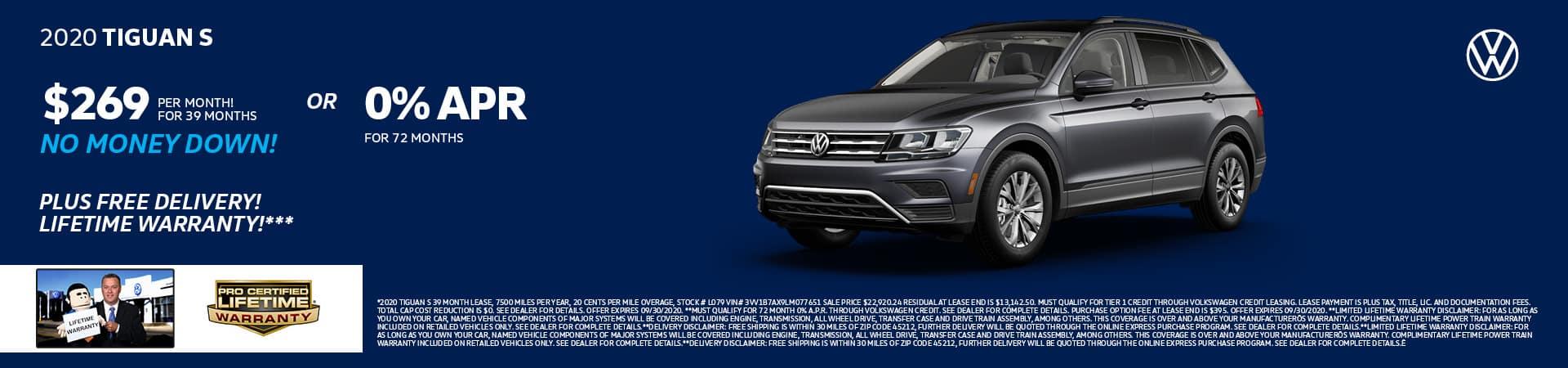 New 2020 Volkswagen Tiguan   Cincinnati, OH