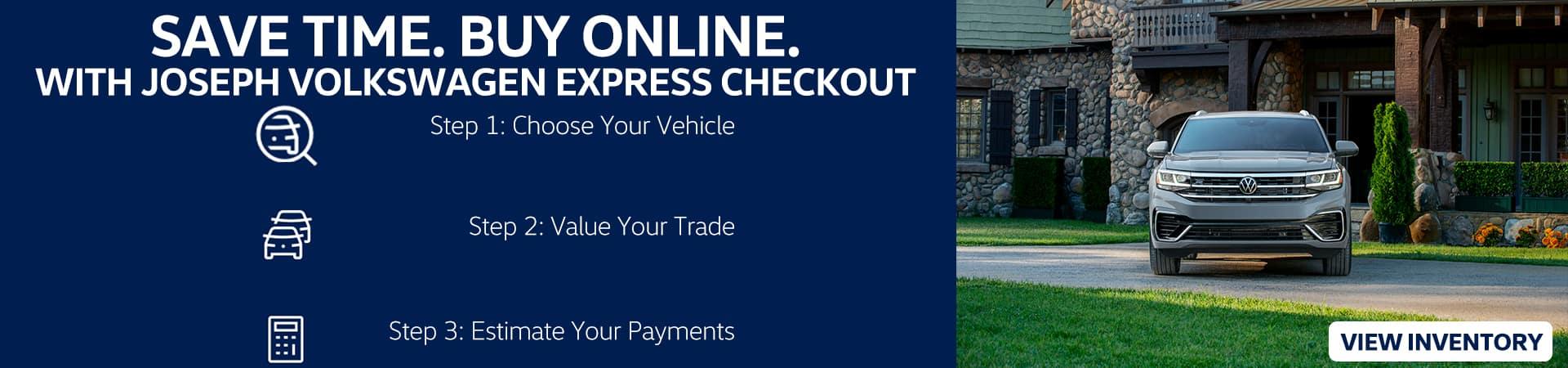 Save Time, Buy Online | Joseph Volkswagen of Cincinnati | Cincinnati, OH