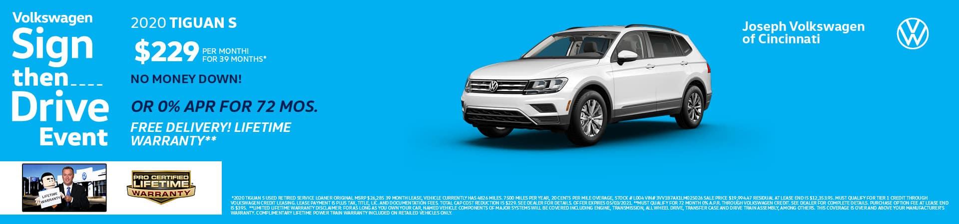 2020 Volkswagen Tiguan | Joseph Volkswagen of Cincinnati | Cincinnati, OH