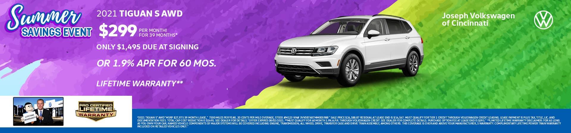 2021 Volkswagen Tiguan | Joseph VW | Cincinnati, OH