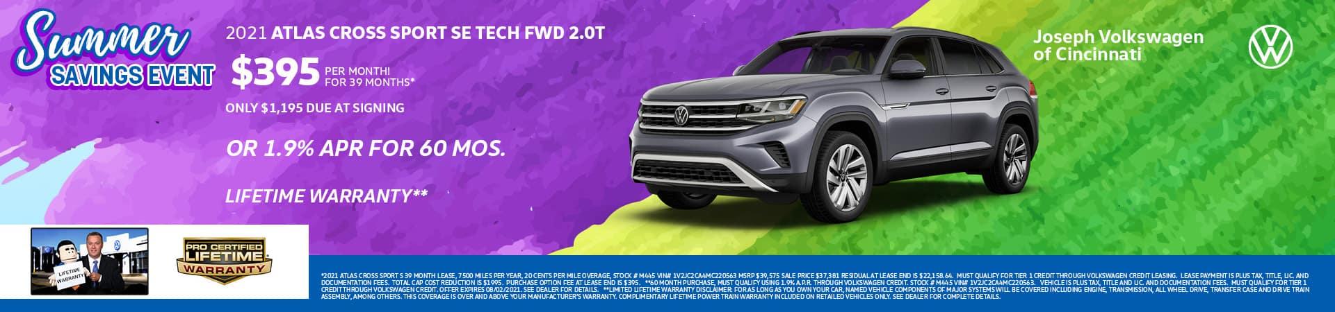 2021 Volkswagen Atlas Cross Sport | Joseph VW | Cincinnati, OH