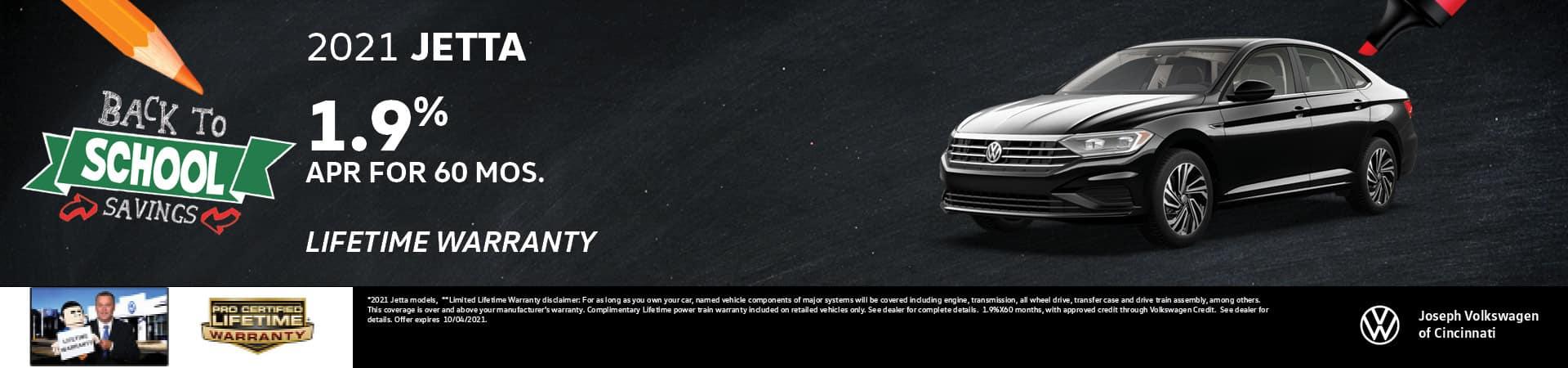 2021 Volkswagen Jetta 1.9% APR   Joseph Volkswagen   Cincinnati, OH