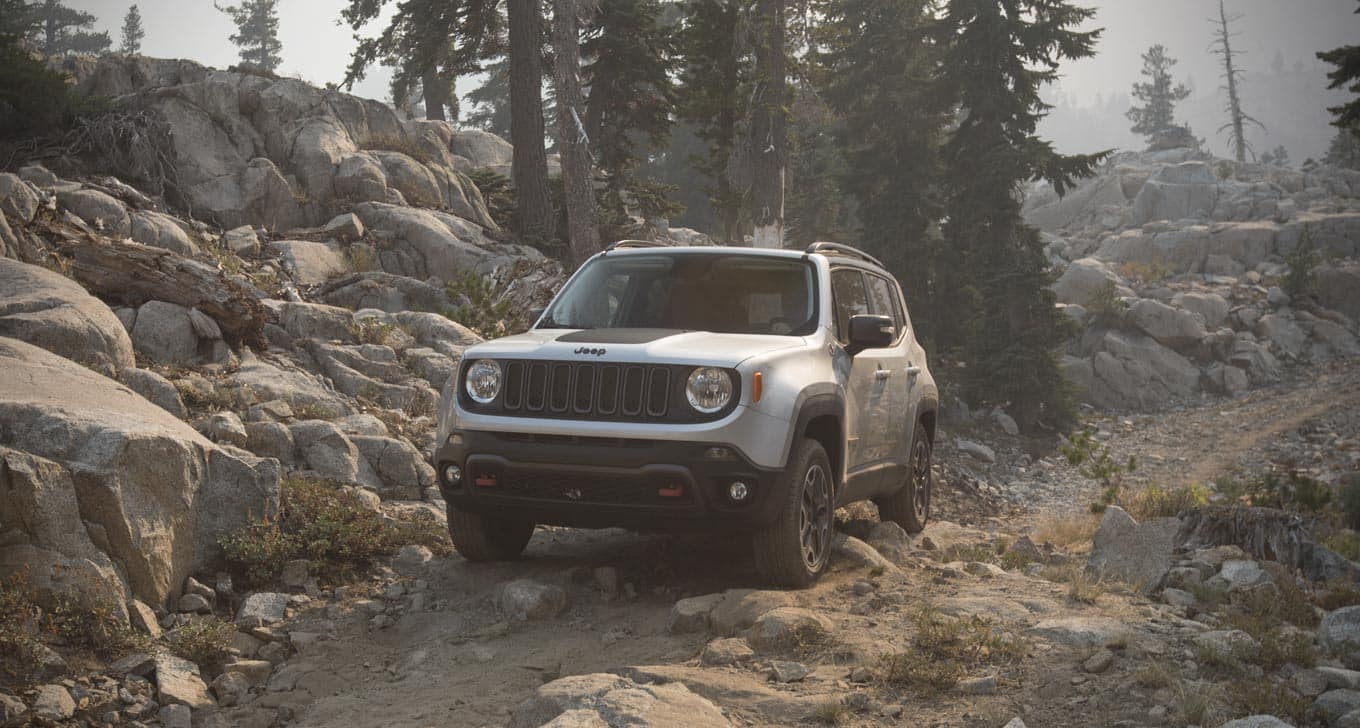 5 Ways The Jeep Renegade Sticks Out From The Crowd