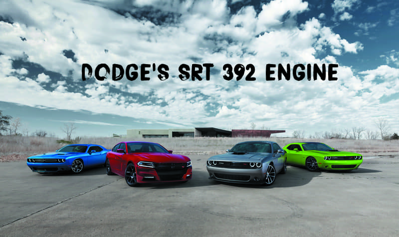 Dodge Srt Performance Srt 392 Engine
