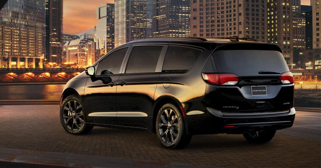 2018 Chrysler Pacifica Special Packages And Exterior Options