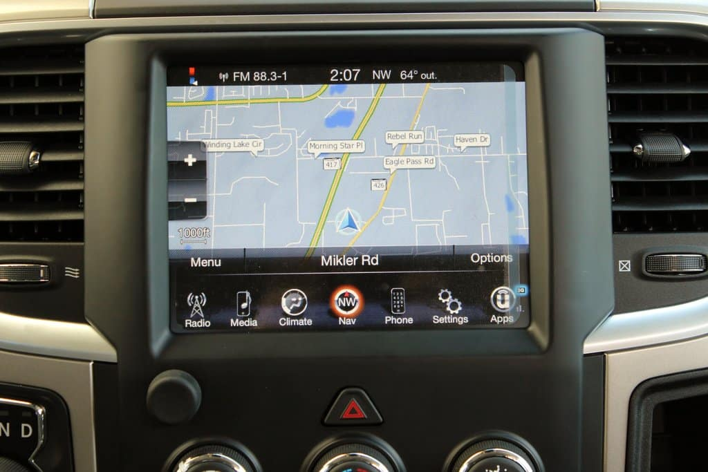 4 Reasons to Get Built-In Navigation System on Your New Ram Truck